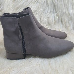 Zara Gray Ankle Booties Size 41